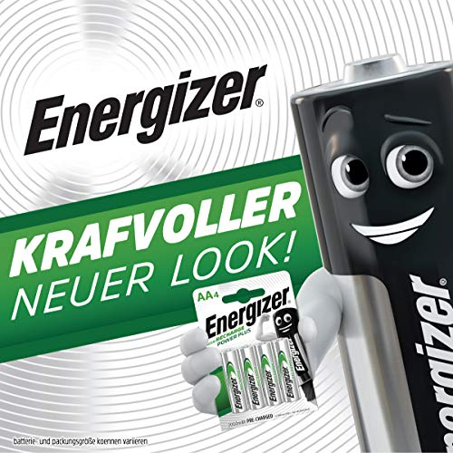 Energizer E300321800 – NiMH Akkumulator Power Plus, C / Baby / 2500 mAh 2er Pack - 2