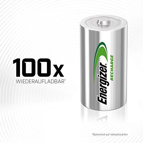 Energizer E300321800 – NiMH Akkumulator Power Plus, C / Baby / 2500 mAh 2er Pack - 5