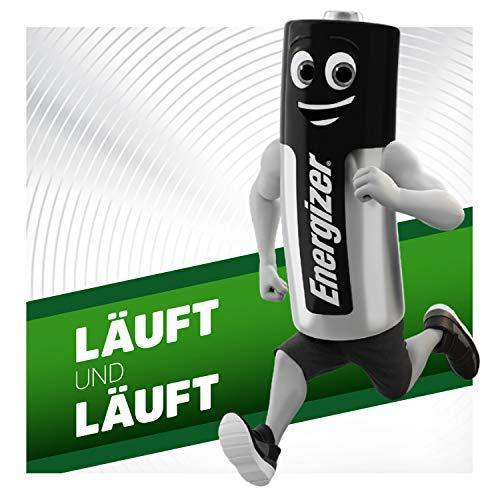 Energizer E300321800 – NiMH Akkumulator Power Plus, C / Baby / 2500 mAh 2er Pack - 7