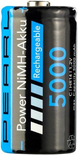 PEARL NiMH-Akku Babyzelle Typ C 5000 mAh