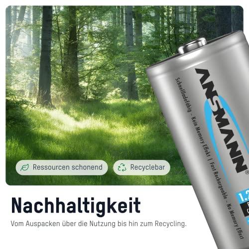 ANSMANN maxE Baby C Akku 4500mAh (2er Pack) vorgeladene ready2use NiMH Power Akkubatterie Babyzelle mit geringer Selbstentladung - 3