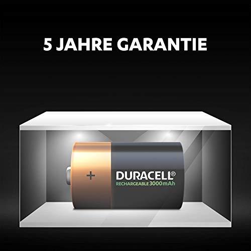 Duracell Akku D (HR20) 3000 mAh  2er (wiederaufladbare Batterie) - 4