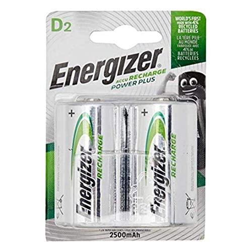 Energizer E300322000 – NiMH Akkumulator Power Plus, D /Mono / 2500 mAh 2er Pack - 5