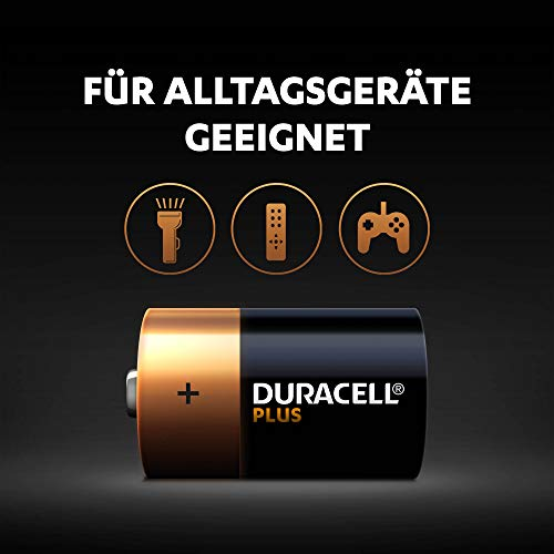 Duracell Plus Power Alkaline Batterien D (MN1300/LR20) 4er Pack - 3