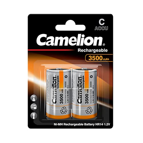 Camelion 17035214 Akku (NiMH, Baby, R14 (C), 3500 mAh, 2er)