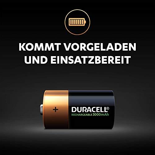 Duracell Akku C (HR14) 2.200 mAh 2er (wiederaufladbare Batterie) - 3