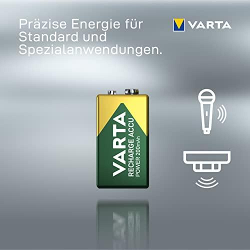Varta Power Accu NiMH Akku 9V-Block 200 mAh - 4