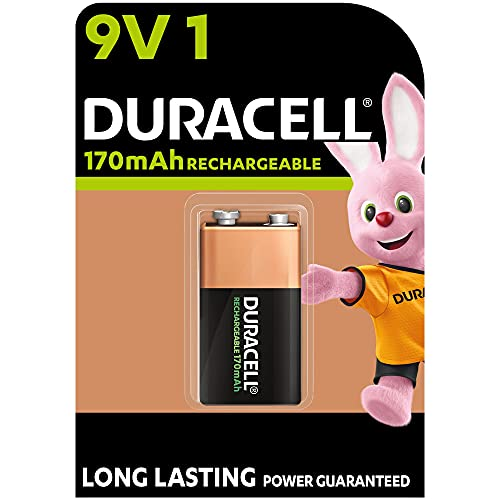 Duracell Akku 9V (HR22) 170 mAh 1er (wiederaufladbare Batterie)