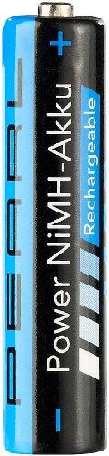 PEARL 1100 mAh NiMH-Akkus AAA Micro 4er-Set - 3