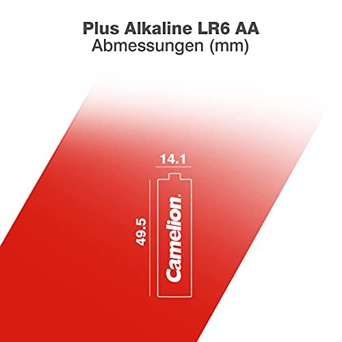 Camelion 11000406 Plus Alkaline Akku AA/Mignon/LR06 (4er-Pack) - 5