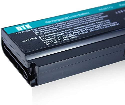Dtk® Ultra Hochleistung Notebook Laptop Batterie Li-ion Akku für Toshiba PA3817U-1BRS PA3819U-1BRS Satellite C600 C655 C675 A660 A665 L600 L630 L635 L640 L645 L650 L655 L655d L670 L675 L700 L730 L735 L740 L745 L750 L750d L770 L775 L775d M640 M645 P740 P745 P750 P770 P775 Series – 12 Months Warranty [Li-ion 6-cell 10.8V 4400mah/48wh] Notebook battery - 5