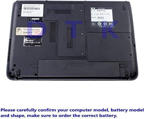 Dtk® Ultra Hochleistung Notebook Laptop Batterie Li-ion Akku für Toshiba PA3817U-1BRS PA3819U-1BRS Satellite C600 C655 C675 A660 A665 L600 L630 L635 L640 L645 L650 L655 L655d L670 L675 L700 L730 L735 L740 L745 L750 L750d L770 L775 L775d M640 M645 P740 P745 P750 P770 P775 Series – 12 Months Warranty [Li-ion 6-cell 10.8V 4400mah/48wh] Notebook battery - 6