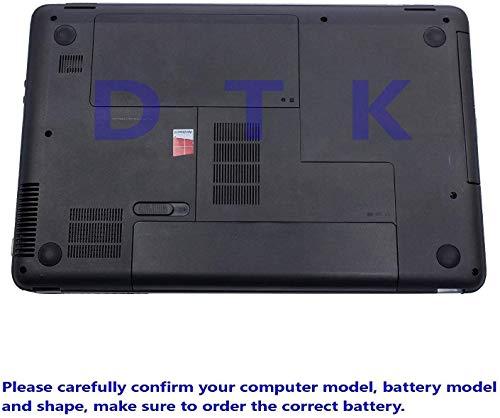 Dtk® Ultra Hochleistung Notebook Laptop Batterie Li-ion Akku for Hp COMPAQ G32 G42 G42t G56 G62 G72 G4 G6 G6t G7 ; Hp Presario Cq32 Cq42 Cq43 Cq430 Cq56 Cq62 Cq630 Cq72 ; Envy 15 , Envy17 ; Hp Pavilion Dm4 Dv3-4000 Dv5-2000 Dv6-3000 Dv6-6000 Dv7-4000 Dv7-6000 Series; 2000 430 431 435 436 630 631 635 636 Notebook Pc Fits Mu06 Mu09 593553-001 593554-001 Wd548aa Wd549aa Wd548aa Hstnn-lb0w 636631-001 593550-001 Notebook Battery 6-Zellen [10.8v 5200mah] - 7