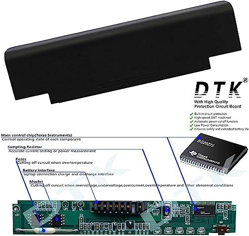 Dtk® Ultra Hochleistung Notebook Laptop Batterie Li-ion Akku für Dell Inspiron 13r 14r 15r 17r N3010 N3110 N4010 N4050 N4110 N5110 N5010 N5030 N5040 N5050 N7010 N7110 M5110 M5010 M4110 M501 M503 M5030 M411r M511r Series, Vostro 1440 1450 1540 1550 3450 3550 3750 Fits P/n J1knd 4t7jn 312-0234 – 12 Months Warranty Notebook Battery (5200MAH-6 CELLS) - 2