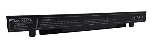 15V 44Wh Laptop akku A41-X550E für ASUS A450J A450JF X450J X450JF K550E K751L F751M - 2