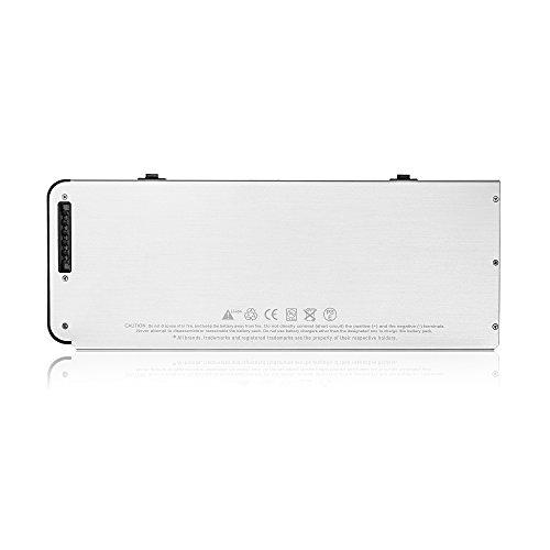 SLODA Laptop Ersatz Akku für Apple Macbook 13″ A1278 A1280 Macbook 13 Zoll Aluminium-Unibody Replacement Batterie MB466CH / A / MB466D / A Series (2008 Version)[10.8V, 5000mAh] - 2