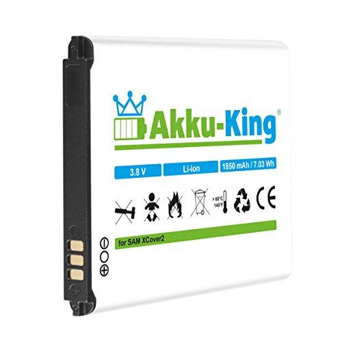 Akku-King Li-Ion Akku (1850mAh) für Samsung Galaxy Xcover 2/GT-S7710