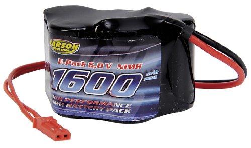 Carson 500608104 - Akku Pack Empfänger, 6 V/1600 mAh NiMH