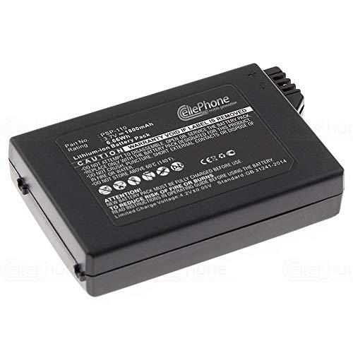 cellePhone Akku Li-Ion für Sony PSP-1000 / PSP-1004 (ersetzt PSP-110)