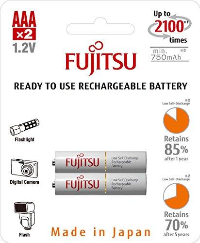 Fujitsu Wiederaufladbare Akku (2x AAA) weiß - 2