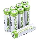 Lumsing 8 Pack AA Akku 2850mAh Ni-MH Wiederaufladbare Batterien Mit Batterie Speichern Box - 2