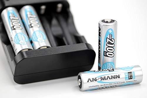 ANSMANN Mignon AA Akku 2100mAh maxE geringe Selbstentladung NiMH vorgeladene Akkubatterie (16er Pack) - 7