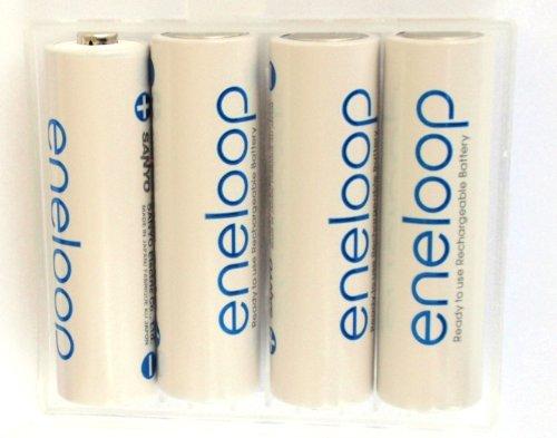 16er Pack Sanyo Eneloop Akkus MIGNON AA Akku Batterien in Kraftmax Akkuboxen – Neueste Version BK-3MCCE - 2