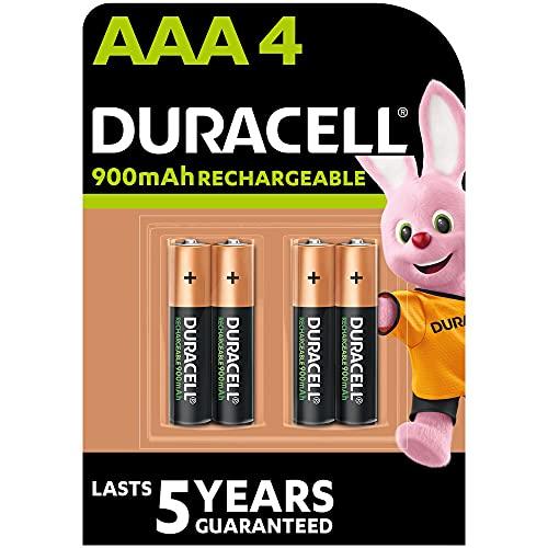 Duracell Recharge Ultra Typ AAA Batterien 850 Mah, 4er Pack