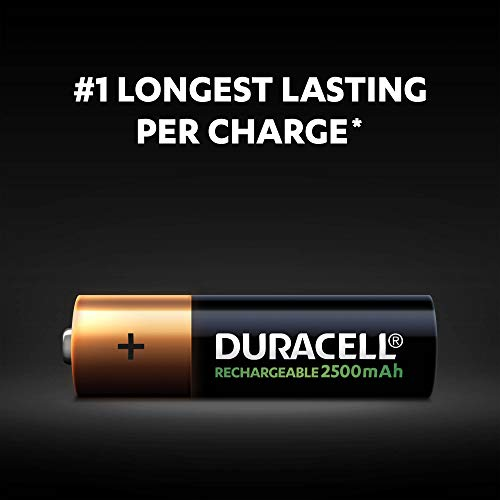 Duracell Ultra HR6 AA Akkus mit geringer Selbstentladung (2400mAh) 2er Pack - 3
