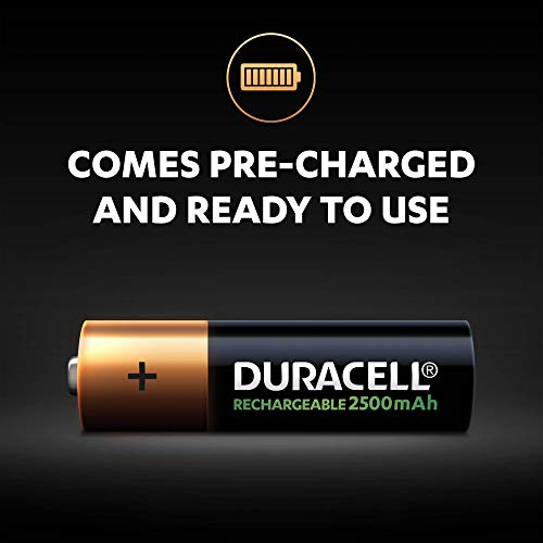 Duracell Ultra HR6 AA Akkus mit geringer Selbstentladung (2400mAh) 2er Pack - 4