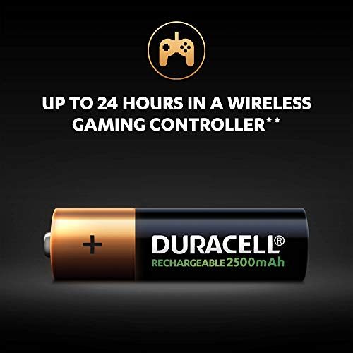 Duracell Ultra HR6 AA Akkus mit geringer Selbstentladung (2400mAh) 2er Pack - 7