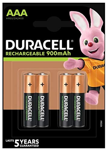 Duracell Akku Active Charge Micro AAA (HR03) 1,2V 800mAh im 4er Pack