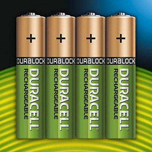Duracell AAA HR03 Rechargeable Batteries Duralock Pre and Stay Charged 850mAh – Value 8 Pack - 3