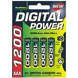 AccuPower AP1200-4 Ni-MH AAA/Micro/LR03 Akku (1200mAh, 4-er Pack) - 2