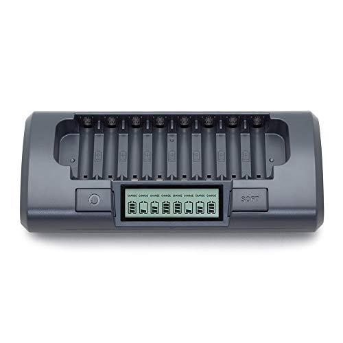 Powerex MH-C800S Ladegerät für 8x AA od. AAA