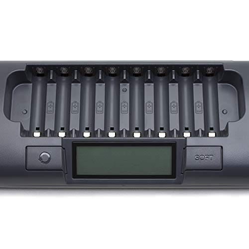 Powerex MH-C800S Ladegerät für 8x AA od. AAA - 3