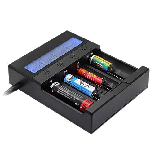 Technoline BC 3500 Ladegerät mit LCD Display - 4