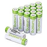 Lumsing 16 Pack AA Akku 2500mAh Ni-MH Wiederaufladbare AA Batterien Mit Batterie Speichern Box - 2