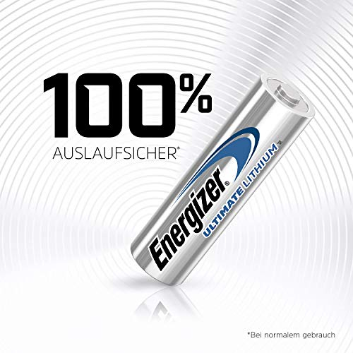 Energizer Batterie Lithium Mignon AA (1,5Volt 4er-Packung) - 5