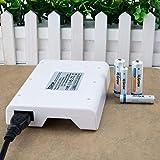 iEGrow 8-Schlitz Akku Ladegerät für AA/AAA Ni-MH Wiederaufladbare Batterie (8 LED) - 7