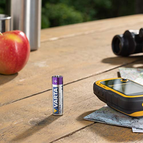 Varta Lithium Batterie (AA Mignon Alkaline Batterien LR6) 4er Pack - 4