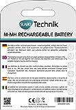 Slabo Ni-MH Mignon Akku Batterien AA wiederaufladbar – 2600mAh / 1.2V – AA Akku für Fernbedienung / Spielzeug / Game-Controller etc. – 4er-Pack - 7