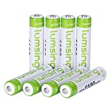 ATC 8x 1000mah Batterie Battery AAA Accu NI-MH aufladbar hochleistung Akku
