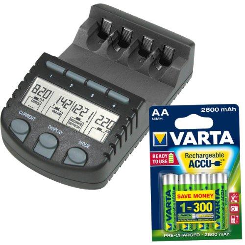 Technoline BC 700 Set + 4x Varta AA