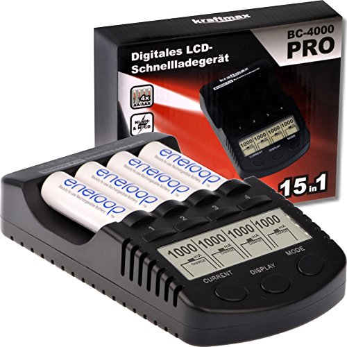 Kraftmax BC-4000 Pro Akku-Ladegerät