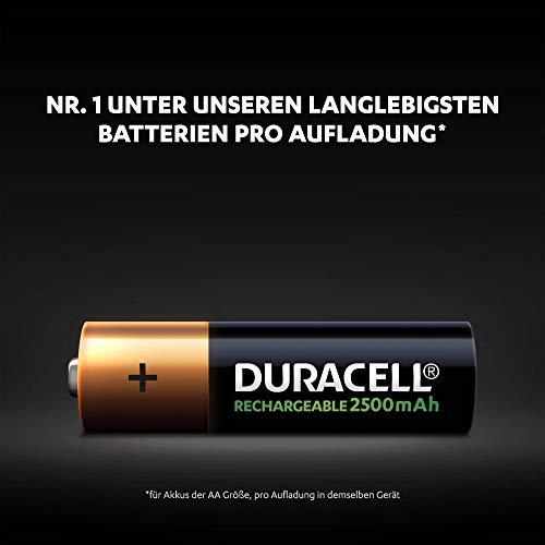 Duracell Ultra HR6 AA Akkus mit geringer Selbstentladung (2500mAh) 4er Pack - 2