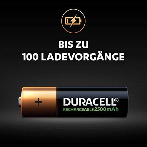 Duracell Ultra HR6 AA Akkus mit geringer Selbstentladung (2500mAh) 4er Pack - 3