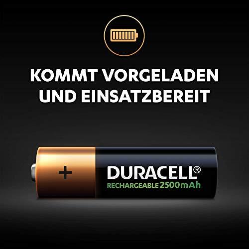 Duracell Ultra HR6 AA Akkus mit geringer Selbstentladung (2500mAh) 4er Pack - 4