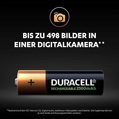 Duracell Ultra HR6 AA Akkus mit geringer Selbstentladung (2500mAh) 4er Pack - 7