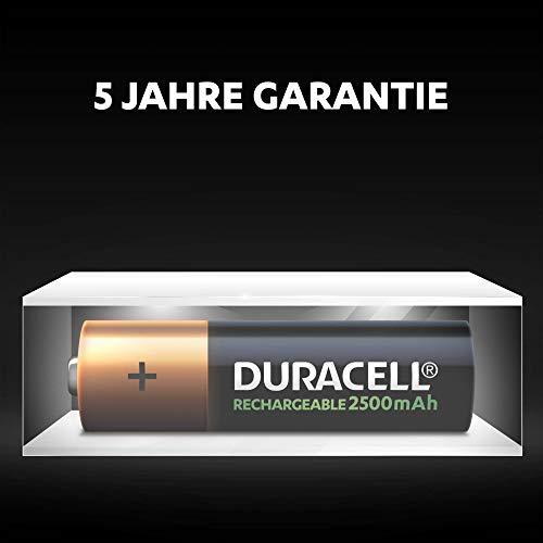 Duracell Ultra HR6 AA Akkus mit geringer Selbstentladung (2500mAh) 4er Pack - 8